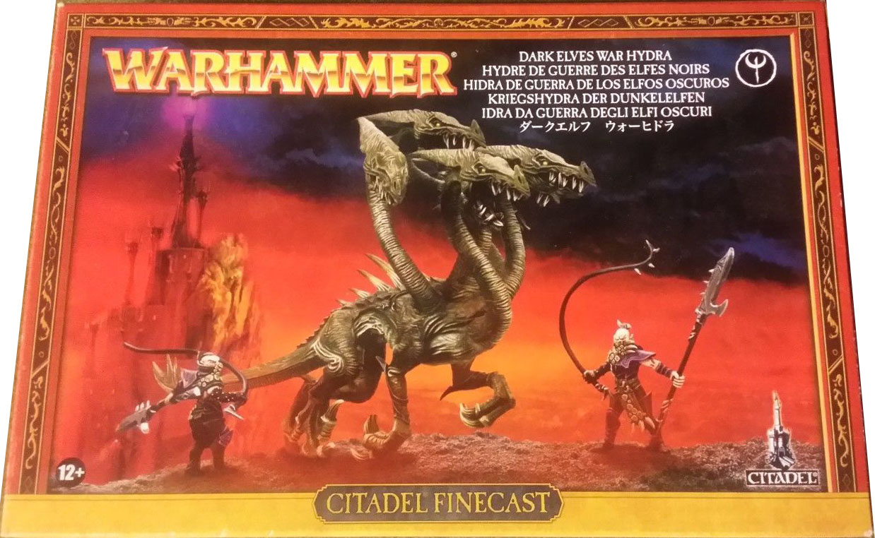 GAWWFB 99810212003 (85-40) T5CF - Dark Elf War Hydra [Box] 1A.jpg